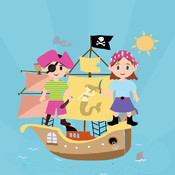 Match Game For Pirates Kids and Friends Free