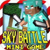 MC SKY BATTLE ( Sky Wars ) - Mini Game with Block Survival Worldwide Multiplayer