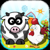 Farm Animals: Ranch Match Pro - My Cowboy Day Story Game (For The iPhone, iPad, iPod)