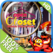 Open Closet - Free Search & find concealed and hidden objects in the clothes closet