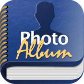 Photo Album for Facebook - All your friends in a beautiful photo album + digital frame photo album book