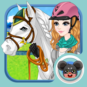 Horse Dress up - Dress up and make up game for kids who love horse games