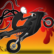 A Bike Race of Slender Man`s Temple - Pro Racing Game