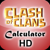 Calculator HD for Clash of Clans super football clash 2 temple