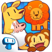 Meet the Zoo Animals - Interactive Educational Game for Toddlers and Preschoolers