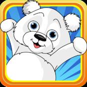 Arctic Candy Battle : Baby Polar Bears VS Penguin