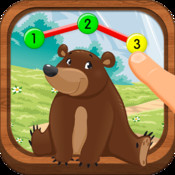 Animals & Bugs Adventure: Connect the Dots for Kids and Toddlers - Number and Alphabet Learning
