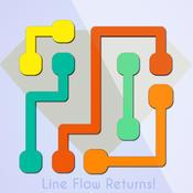 Line Flow Returns - Awesome line puzzle line copy