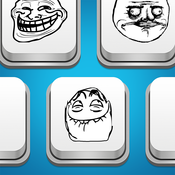 MemeBoard - Rage Faces, Memes, Stickers And Emoji Keyboard For iOS 8