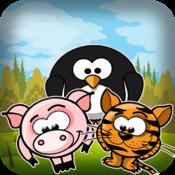 Move The Cute Pet Animals - Epic Safari Match Game