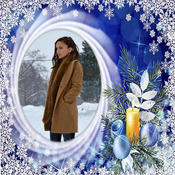 Winter Photo Frames Deluxe