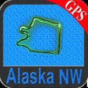 Alaska (NW) nautical chart GPS