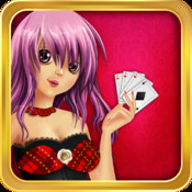 Anime Poker High Low - A Classic Party Poker Series Game