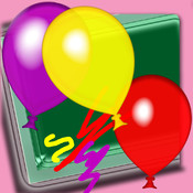 Colors Balloons Draw - Colors Educational Fun Balloons Painting Game