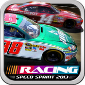 Speed Sprint Racing 2013 - Nascar style edition appear button finish