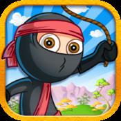 Ninja Jump Kid - Super Fun Stick-man Run Action Game For Kids FREE