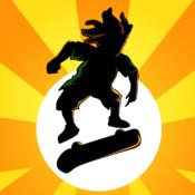 Pocket Skater Pro - Xtreme Downhill Urban Street Skateboarding Touch & Rollerblade Drift Online