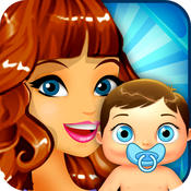Mommy`s New-Born Baby Free - My fun girl`s bump & pregnancy kid`s care game