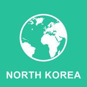 North Korea Offline Map : For Travel north korea tourism