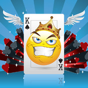 Smiley Face Video Poker - Hot Emoticon Casino Cards with Lucky Emoji Jackpot