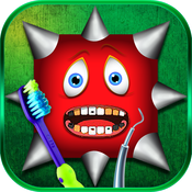 ''A MMM Fingers Version Dentist Play Oral Zig-Zag Braces Surgery in Daytona Clinic Free for Kids