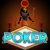 Pharaohs Video Poker Fun with Big Wheel of Jackpots!