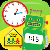 Telling Time Flash Cards from School Zone