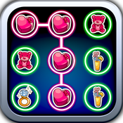 Your Valentine Dots matching game saga:Connect your valentine stickers valentine