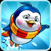 Racing Rolling Penguin-Onetouch Flying and running Penguin Game Free