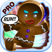 3D Gingerbread Dash - Run or Be Eaten Alive! Game PRO