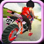 Barbie On Bike ( 3D Racing Game for Girls)