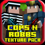 Cops N Robbs 3D Texture Pack for minecraft pocket edition