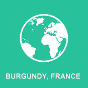 Burgundy, France Offline Map : For Travel