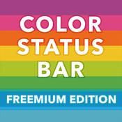 Color StatusBar for iOS7 - Pimp Out a Colorful Status Bar