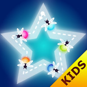 Kids Puzzles preschool games for girls and boys ∙ Toddlers learn shapes & colors with bugs and robots faces paint sparkles draw drill - my first coloring book HD by Kids Academy!