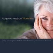 Judge-Your-Neighbor Worksheet