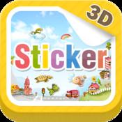 3D Sticker sticker