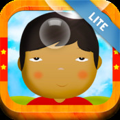 Learn Mandarin Chinese for Toddlers - Bilingual Child Bubbles Vocabulary Game