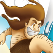 Surfers of The Stone Age HD - A Crazy Ice Hill Race