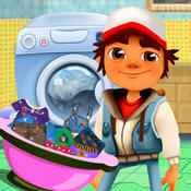 Subway Surfers Wash Clothes subway surfers