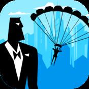 Spy Fall - Secret Service Agent in a Base Jump FreeGames