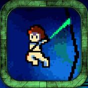 Omega Man Pixel Battle Station X Run