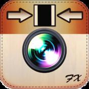 Square FX Pro - Resize, Fit Entire Photo, No Crop for Instatgram gradient backgrounds