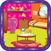 Princess Room Decoration - Little baby girl`s room design and makeover art game teenage room theme