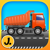 Construction and Transport Vehicles - puzzle game for little boys and preschool kids - Free