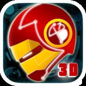 An Official Neon Rush 3D PRO - HD Super Hero Run Game