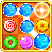 Candy Match Blitz-Amazing pop and match candies game for kids and girls