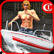 Crazy Boat Parking King 3D HD PLUS