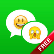 Free Emoji, Emoticon, Emoji Art, Stickers, Cool Fonts & Keyboards for iOS 7 emoji