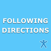 Following Directions from I Can Do Apps directions